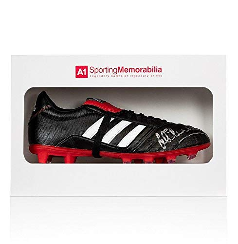 Michael Owen Signed Football Boot Adidas Gloro Gift Box Autograph Cleat Autographed Soccer Cleats
