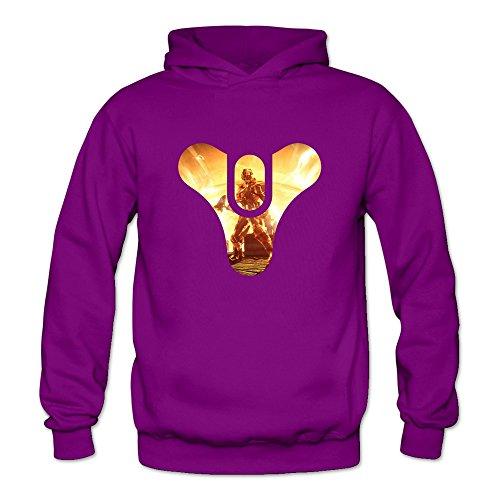 Price comparison product image DASY Women's O-neck Game Destiny The Taken King Fox Hoodie Medium Purple