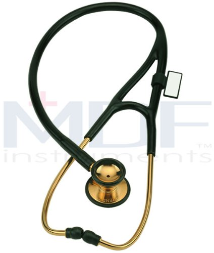 Gold Classic Cardiology Stethoscope Lack