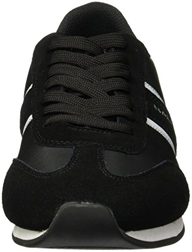 Men's Fashion Sneaker Boyle Black Nautica White d6w4Ydq