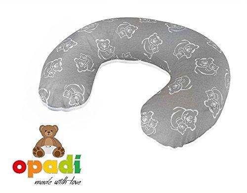 Opadi Stillkissen Mini Tiermotive Koala Stillkissen f/ür unterwegs Stillmond Stillh/örnchen