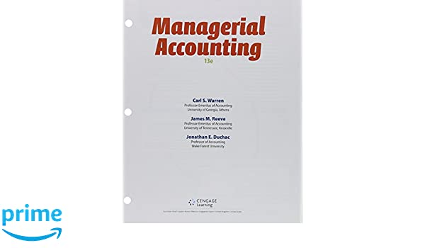 Amazon.com: Bundle: Managerial Accounting, Loose-Leaf Version ...