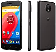 "Motorola XT1756 Smartphone Moto C , 5"", 4G, 8GB, Quad Core 1.1Ghz, Cámara 5Mp, Android Nougat 7.0, color Negro"