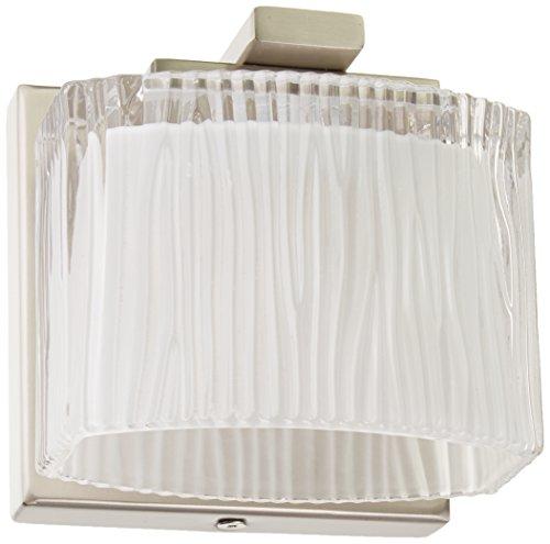 ELK Lighting 11630/1 Chiseled Glass Collection 1 Bath Light, 5 x 5 x 4