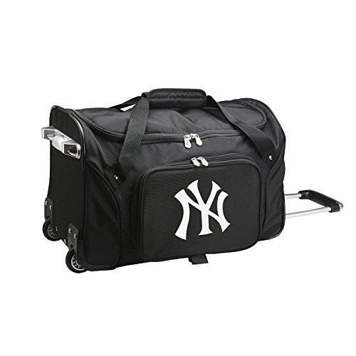 MLB New York Yankees Wheeled Duffle Bag by MLB