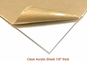 "plexiglass scrap 1//2"" thick 14/"" x 23 1//2/"" Acrylic sheet"