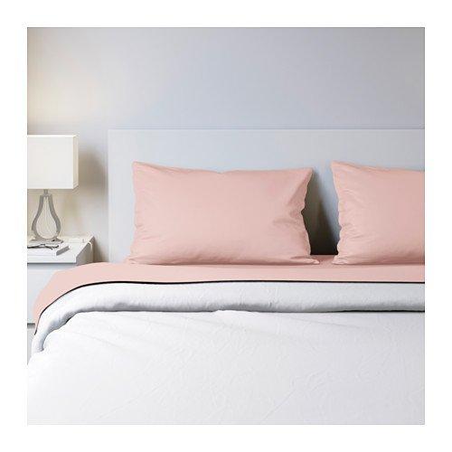 IKEA Dvala Sheet Set Light Pink 703.577.08 Queen (Dvala Sheet Set Queen)