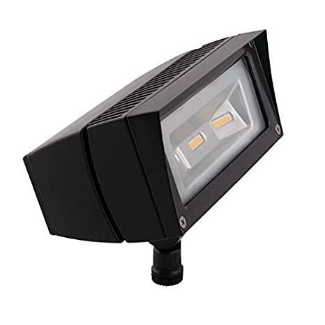 Rab ffled18 pc future flood series rectangular led flood light fixture 18 watt 120