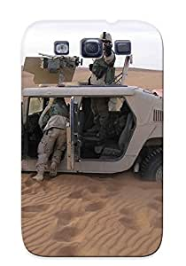 Ellent Galaxy S3 Case Tpu Cover Back Skin Protector Army Humvee For Lovers' Gifts