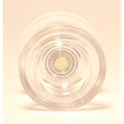 Magic YoYo SKYVA Yo-Yo Polycarbonate Plastic Jeffrey Pang Design (Clear): Toys & Games