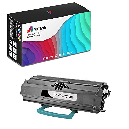 - ABCink Compatible Toner Cartridge Replacements for Lexmark 23800SW 23820SW,for use in Lexmark E238,6000 Yields(1 Pack,Black)