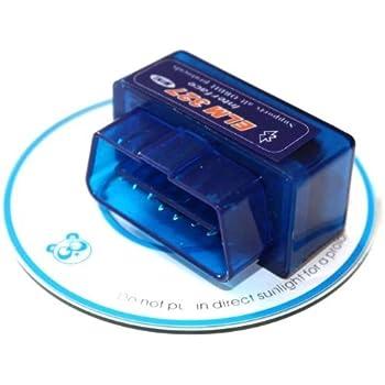 Newest Bluetooth V1.5 OBD2 OBD II Auto Diagnostic Scanner Mini Adapter