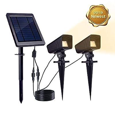 KEYNICE Solar Spotlight