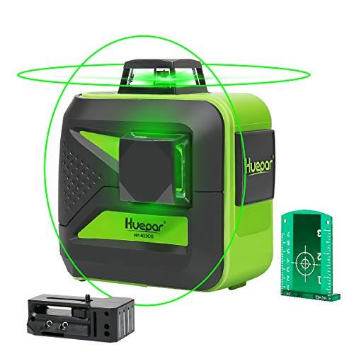 Huepar 602CG Self-Leveling Green Beam Laser Level 2x360