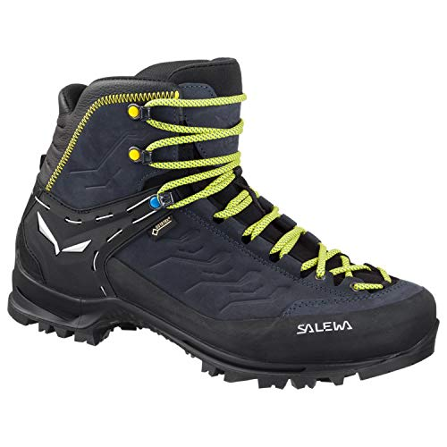 Salewa Men's Rapace GTX Mountaineering Boot, Black/Kamille, 10.5