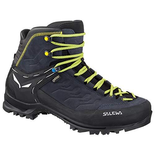 Gtx Alpine Boot - Salewa Men's Rapace GTX Mountaineering Boot, Black/Kamille, 11