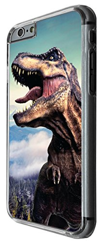 1059 - Cool fun dinosaur art t-rex triceratops stegosaurus spinosaurus (7) Design For iphone 4 4S Fashion Trend CASE Back COVER Plastic&Thin Metal -Clear