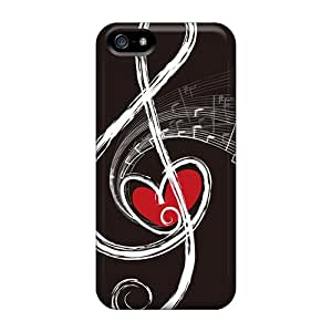 TinaMacKenzie Iphone 5/5s Hybrid Cases Covers Bumper Note Of Love