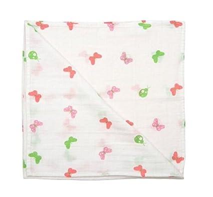 SLUMBERTAG Muslin Cloth Baby Comforter Security Blanket Boat 30x30