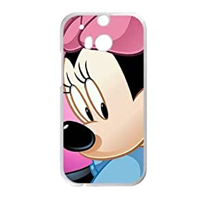 Cheerful Mickey Mouse Phone Case for HTC One M8 case by ruishername