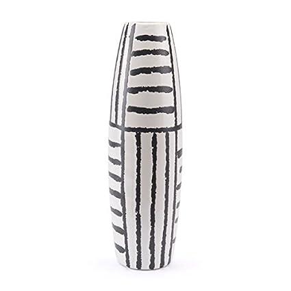 Amazon Zuo Croma Vase Large Black White Home Kitchen