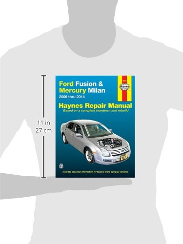 Ford Fusion Mercury Milan 06 14 Haynes Repair Manual Does Not Include Information Specific To Hybrid Models Includes Thorough Vehicle Coverage Apart From The Specific Exclusion Noted Editors Of Haynes 0038345360459 Amazon Com