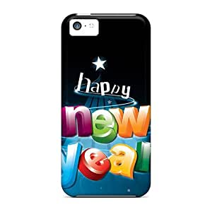 Iphone 5c Cases Bumper Tpu Skin Covers For Happy New Year 3d Letters Accessories