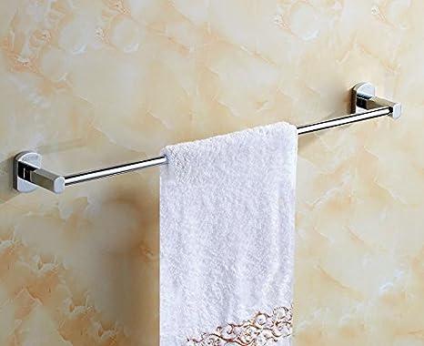 NDDER Barra de Toallas Baño Monopolar de Cobre Solo Piso baño fácil de Bordar Punch 35cm: Amazon.es: Hogar