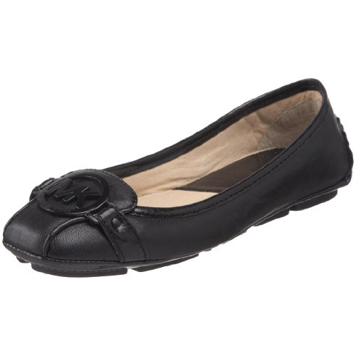 - Michael Michael Kors Women's Fulton Ballet Flat,Black Leather,9 M US