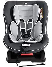 Meinkind Siège Auto pour Enfant Confortable Réglable Groupe 0 +/1 (0-18 kg), Protection Contre Les Impacts Latéraux Installation Bidirectionnelle Matériau Ignifuge et Respirant ECE R44/04, Gris