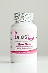 BRAS Liver Clear - Metabolizes Estrogen, Balances Hormones, Detoxifies the Body, Regenerates Liver Cells