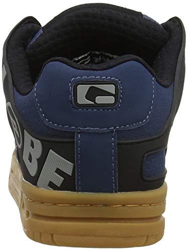 12106 Skateboard Navy Globe Chaussures light De Gum Homme Pour Tilt Bleu vHUqHROA