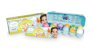 Resurrection Eggs 12-Piece Easter Egg Set with Religious Figurines Inside