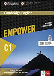 Cambridge English Empower C1. Students book print : Für Erwachsenenbildung/Hochschulen: Amazon.es: Doff, Adrian: Libros en idiomas extranjeros