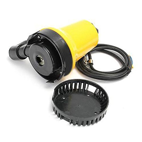 4500L//H 12V 50W Submersible Water Pump Clean Clear Dirty Pool Pond Flood Tool