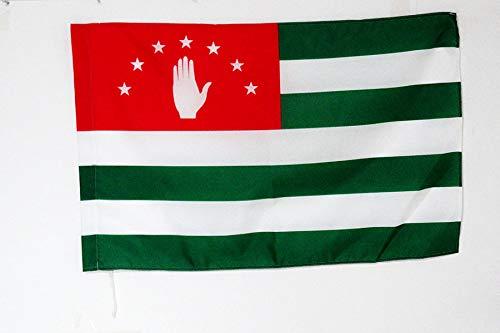 AZ FLAG Drapeau Abkhazie en G/éorgie 150x90cm Drapeau abkhaze 90 x 150 cm Fourreau pour hampe