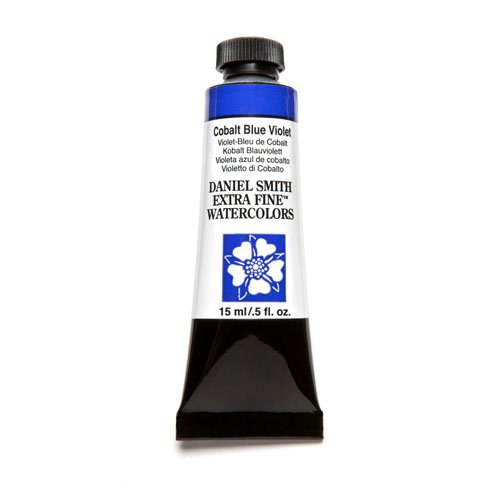 DANIEL SMITH Extra Fine Watercolor 15ml Paint Tube, Cobalt Blue Violet
