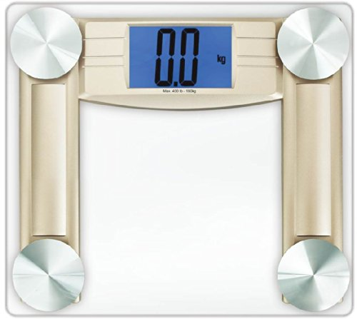 Cook N Home Digital Bathroom Scale, Transparent by Cook N Home