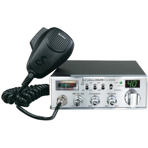 COBRA ELECTRONICS 25 LTD 40-Channel Classic CB Radio with Dy