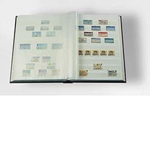 Leuchtturm 327876 Clasificador DIN A4, 64 páginas blancas, tapa no acolchada,azul