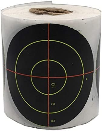 Toygogo 射撃 アーチェリー ターゲット ペーパーターゲット 自己接着 標的ペーパー ターゲットペーパー