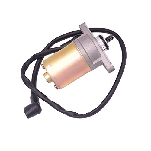 Black Engine Kill Switch Starter Switch for All Electric Start Or Carbureted Off-Road Motorcycles,ATV,Monkey Bikes,Scooters