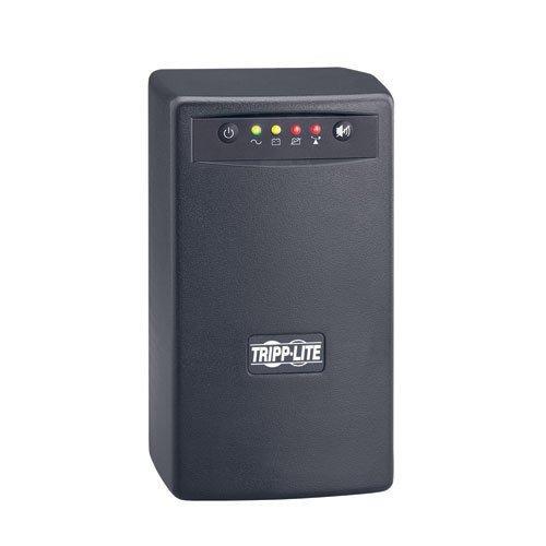 (Tripp Lite SMART550USBTAA 550VA 300W UPS Battery Back Up Tower AVR 120V USB RJ11 TAA GSA, 6 Outlets)