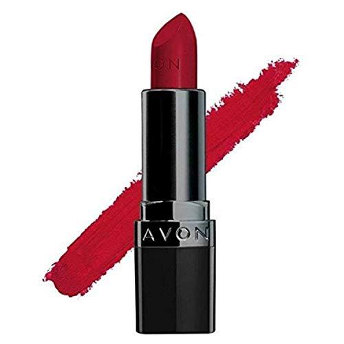 Avon True Color Perfectly Matte Lipstick, Red Supreme, 4g
