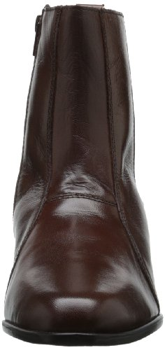 Stacy Adams Mens Santos Plain-boot Con Cerniera Laterale Cognac