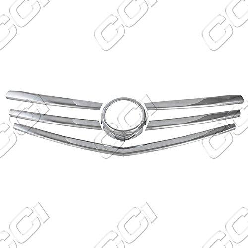 13-15 Cadillac ATS 1 Piece Chrome Grill Overlay - Grill Overlay
