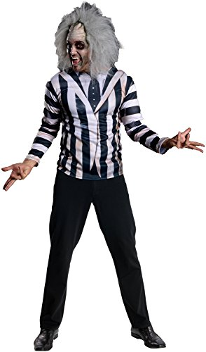 [Rubie's Costume Co Men's Beetlejuice Kit, Multi, One Size] (Beetlejuice Costume Wig)