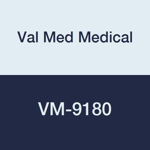Val Med Medical VM-9180 Non-Quilted Underpad, Birdseye Cotton, Fiber Filled, 18'' Width, 18'' Length, White (Pack of 36)