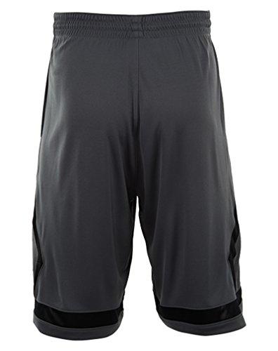 Nike Flight Diamond Shorts da Basket grigio / nero