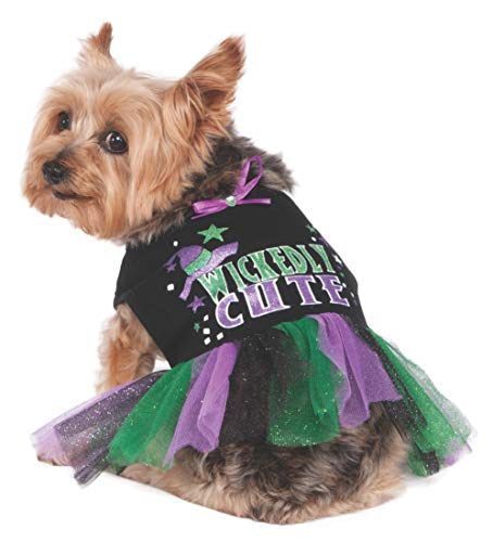 Rubie's Wickedly Cute Tutu Dress Pet Costume, -